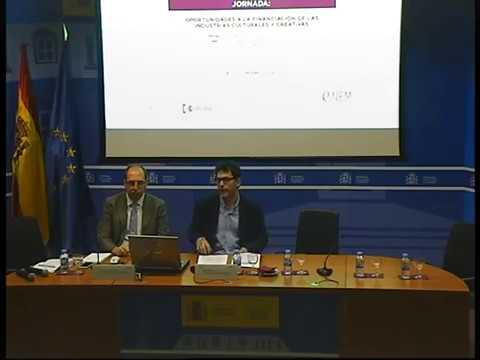 Jornada Oportunidades a la Financiación de las Industrias Culturales y Creativas (1/3) #TICC