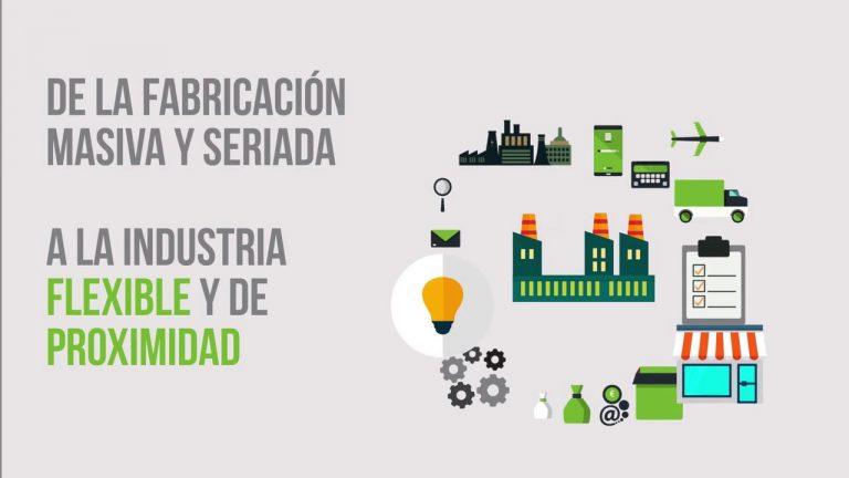 Industria 4.0 Fabricación Producción Flexible Ejemplos y Aplicaciones. nodoCAST