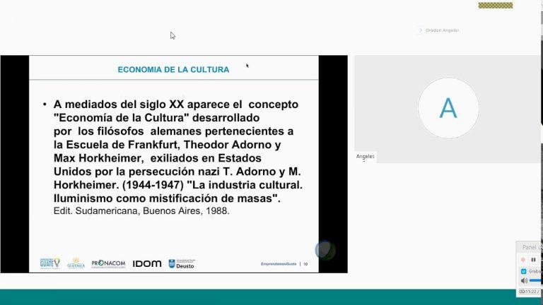 Taller Virtual Industrias Creativas y Culturales  – FASE 2 Ciclo 1