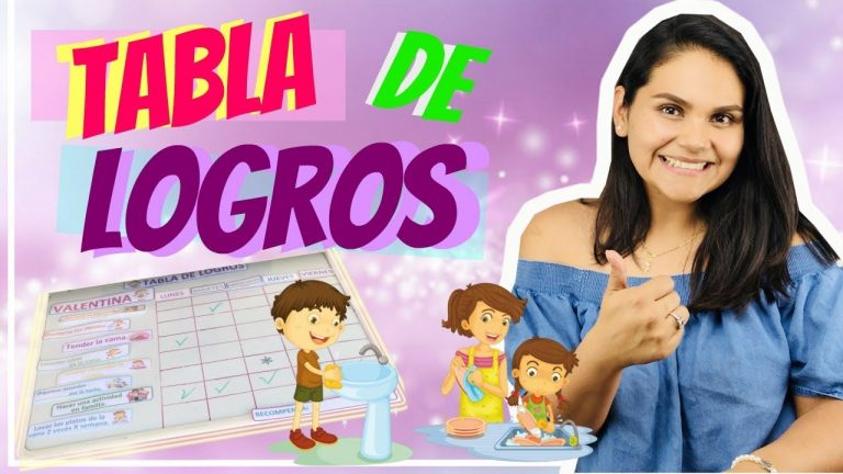 TABLA DE LOGROS PARA NIÑOS  👧👦// ECONOMÍA DE FICHAS.