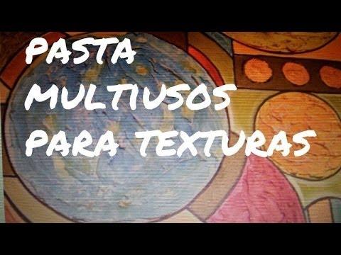 DIY PASTA PARA TEXTURAS Y ESTUCOS