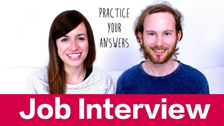 Job Interviews – Entrevistas de trabajo
