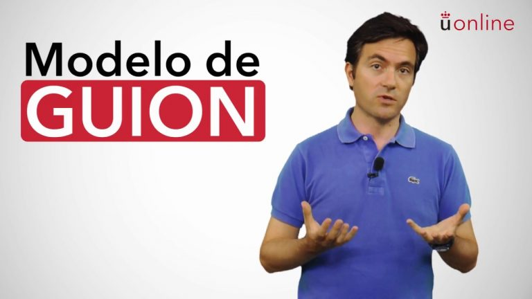 Guion audiovisual para vídeo educativo