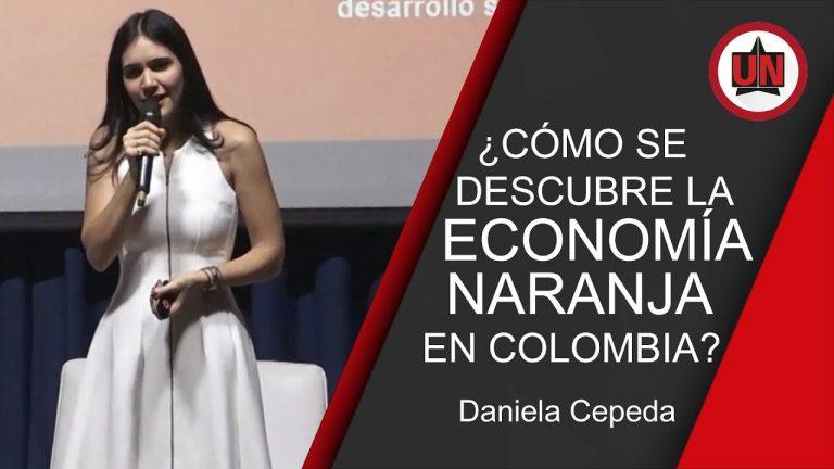 ¿Cómo se descubre la economía naranja en Colombia?