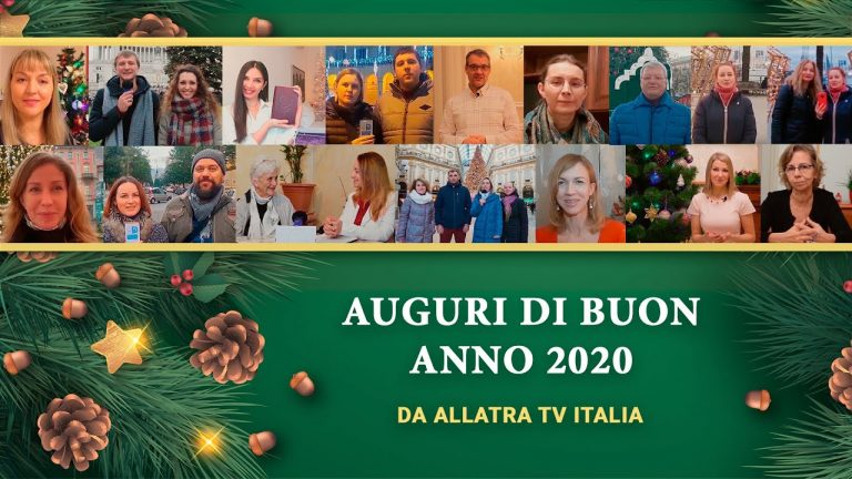 AUGURI DI BUON ANNO 2020