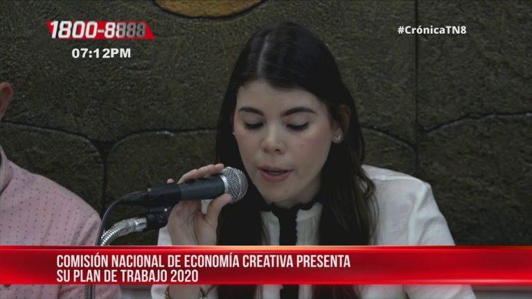 Comisión de Economía Creativa presenta planes 2020 para Nicaragua
