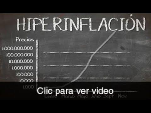 ¿Qué es la hiperinflación?
