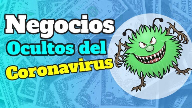 💰Lo que NADIE HABLA sobre el CORONAVIRUS | Oportunidades de NEGOCIO con el CORONAVIRUS