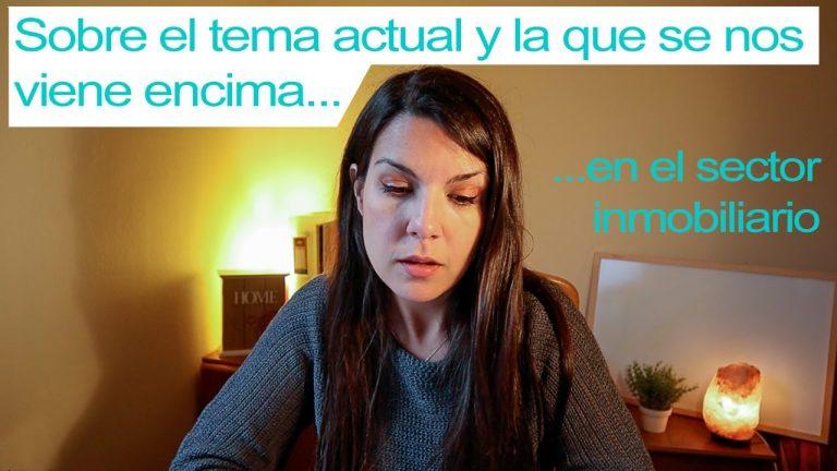 Primeros síntomas en el sector inmobiliario en España