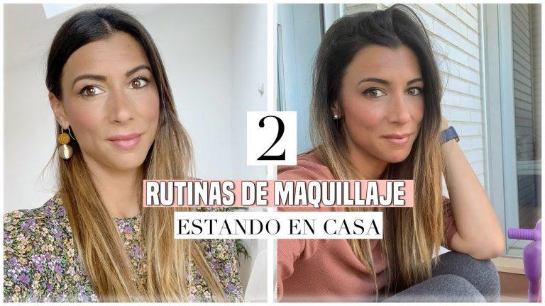 #2 Rutinas de Maquillaje en Casa 💄Rápida en 4 minutos y Anti Favoritos   Ani Pocino TV