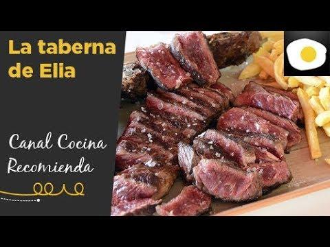 La taberna de Elia, cocina a la brasa | CANAL COCINA RECOMIENDA