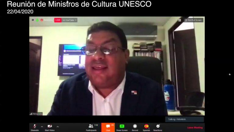 Participación del Ministerio de Cultura  en reunión virtual organizada por UNESCO