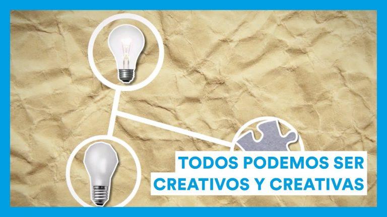Todos podemos ser creativos