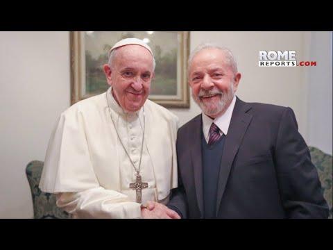 Lula habló con Francisco sobre desigualdades sociales, economía y medio ambiente