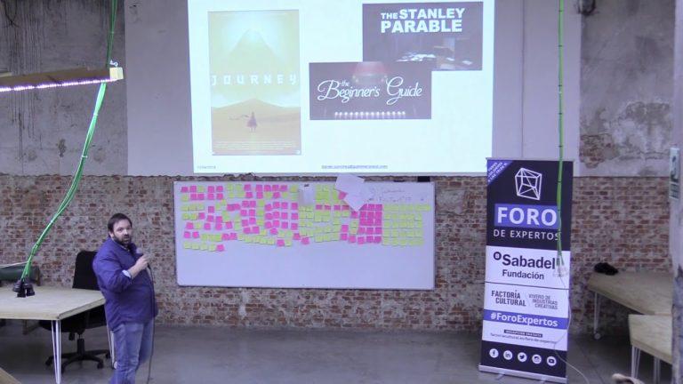 #ForoExpertos: Creatividad para el diseño de un videojuego, con Daniel Sánchez