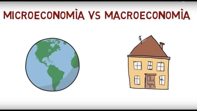 Macroeconomía vs Microeconomía: ¿Qué es cada una?