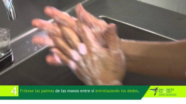 Higiene de Manos: Técnica de lavado clínico de manos