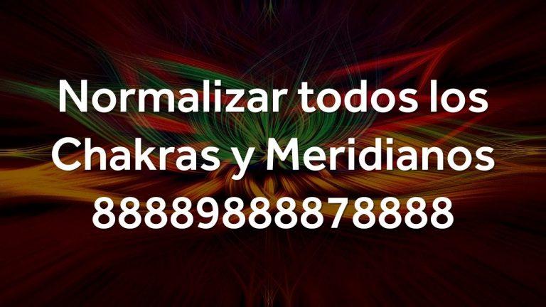 Como Normalizar todos los Chakras y Meridianos con Números de Grabovoi en Español – 88889888878888