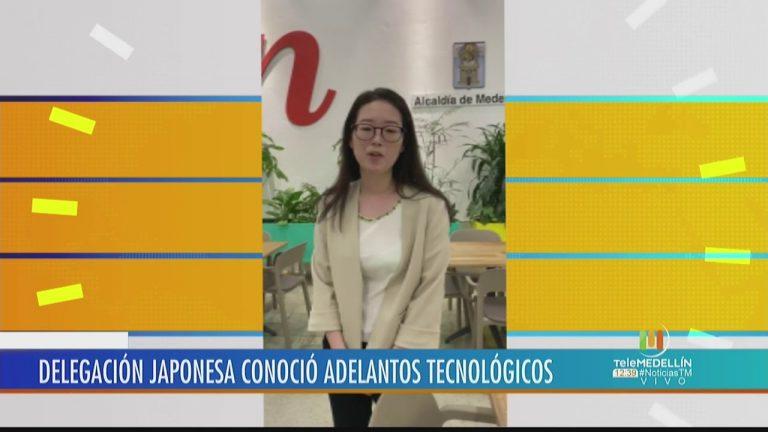 Delegación japonesa visita Medellín para conocer adelantos tecnológicos – Telemedellín