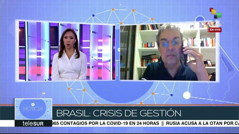 Franco: Bolsonaro va en contra de la opinión de los médicos y expertos