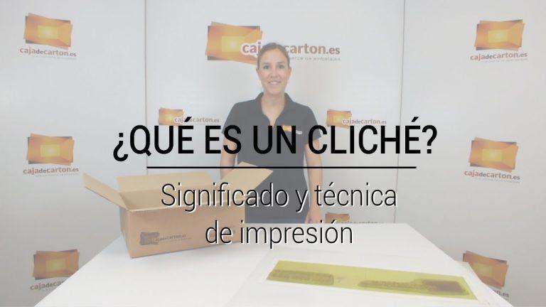 ¿Qué es un Cliché? Significado y técnica de impresión