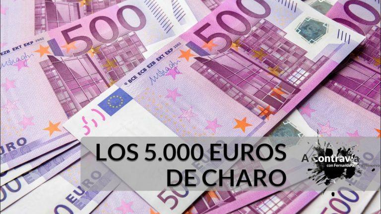 Los 5.000 euros de Charo