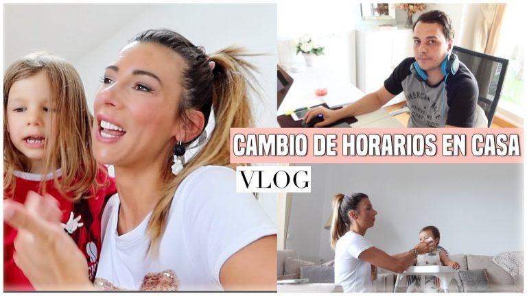 Cambio de Horarios en Casa 🏠Nueva organización trabajo, colegio online, familia | Ani Pocino TV