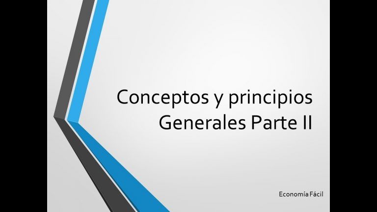 Conceptos y Principios Generales parte II NIIF para Pymes