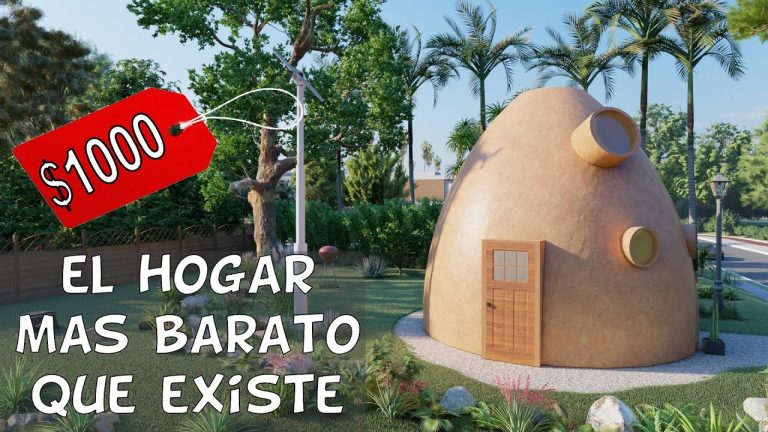 Casa por $1000 Dólares – Con SuperAdobe y ecológica
