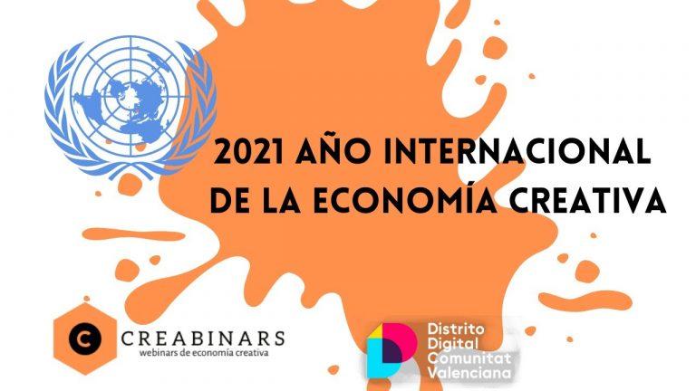Año Internacional de la Economía Creativa 2021, Naciones Unidas.