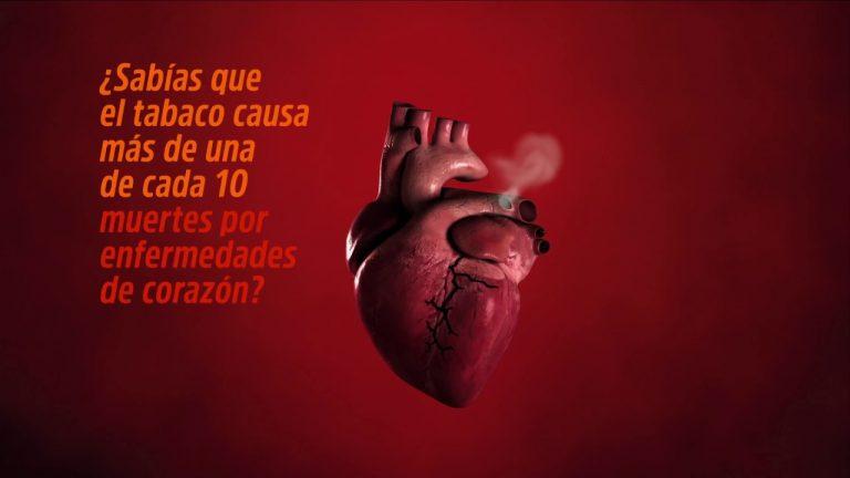 El tabaco rompe corazones – Día Mundial Sin Tabaco 2018