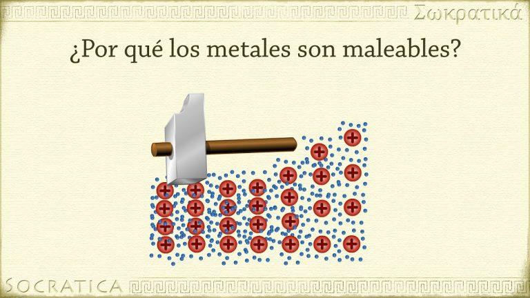 Química: Metales y Enlaces Metálicos