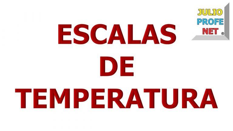 117. ESCALAS DE TEMPERATURA