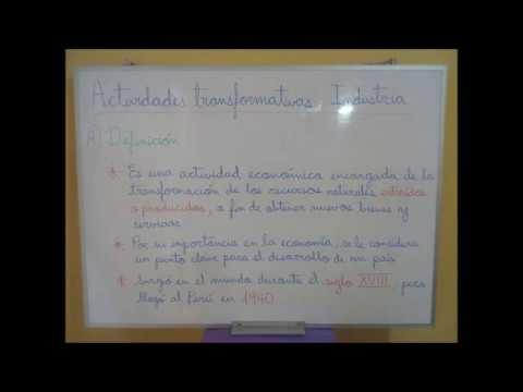 Geografía – Actividades transformativas: Industria (06/07/20 – 2° año de Secundaria)