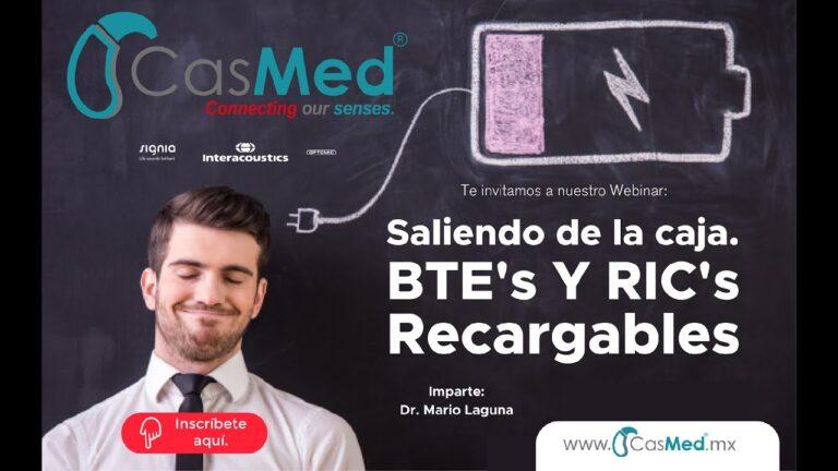 Webinar: Saliendo de la caja…  BTE's Y RIC's Recargables