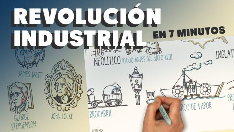 La Revolución Industrial en 7 minutos