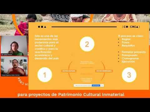 """Convocatoria """"COCREA – UN COMPROMISO CON COLOMBIA"""", para proyectos de Patrimonio Cultural Inmaterial"""