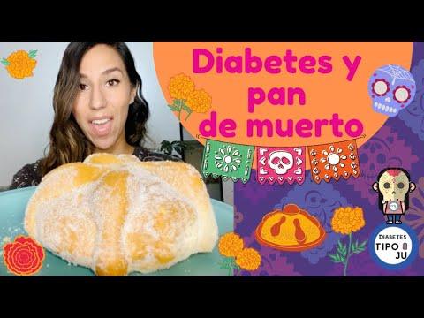 Diabetes y pan de muerto.