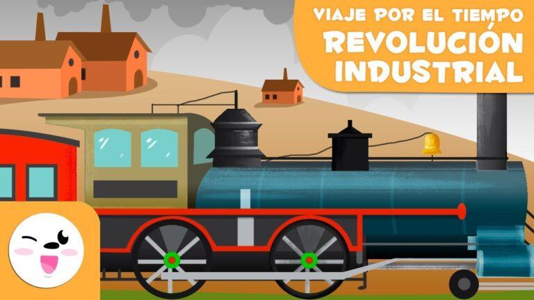 Revolución industrial  para niños – Viaje por el tiempo