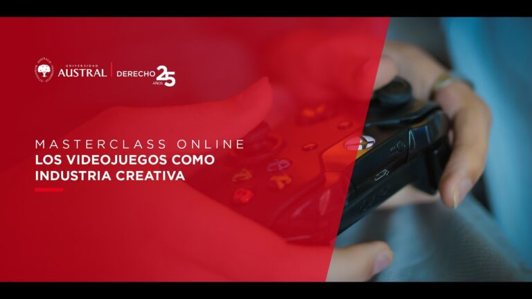 Los videojuegos como industria creativa   Masterclass Online
