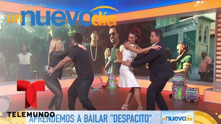 """El coreógrafo de """"Despacito"""" nos enseña cómo bailarlo   Un Nuevo Día   Telemundo"""