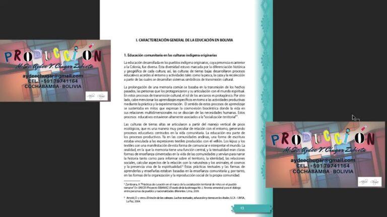 CURRÍCULO BASE – DEL SISTEMA EDUCATIVO PLURINACIONAL – AUDIOLIBRO 2020