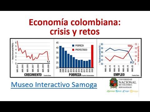 Economía colombiana crisis y retos