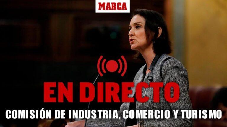 DIRECTO ESTADO ALARMA EN ESPAÑA  – Comisión de Industria, Comercio y Turismo