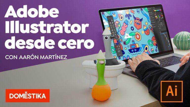 Curso Online de Illustrator – Domestika Basics – Aarón Martínez