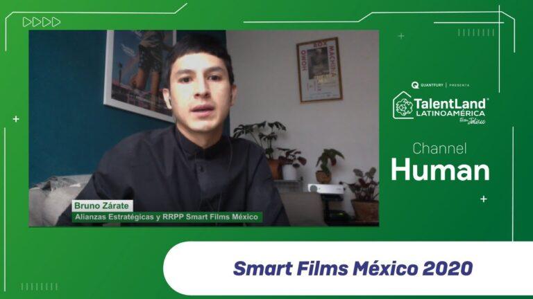 BRUNO ZÁRATE. SMART FILMS MÉXICO 2020 #TALENTNETWORK