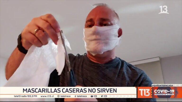 Expertos advierten que mascarillas caseras no sirven para prevenir COVID-19