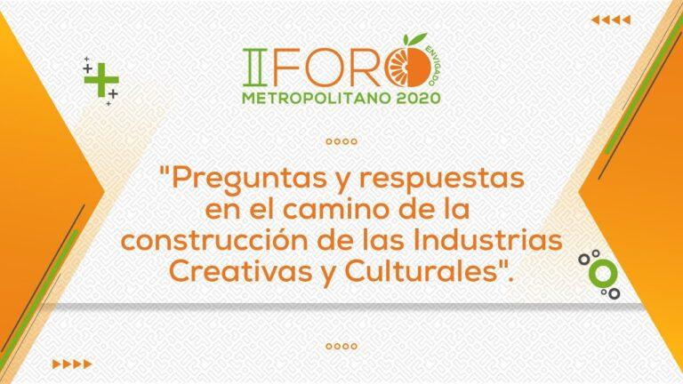 Preguntas y respuestas en el camino de la construcción de las Industrias Creativas y Culturales