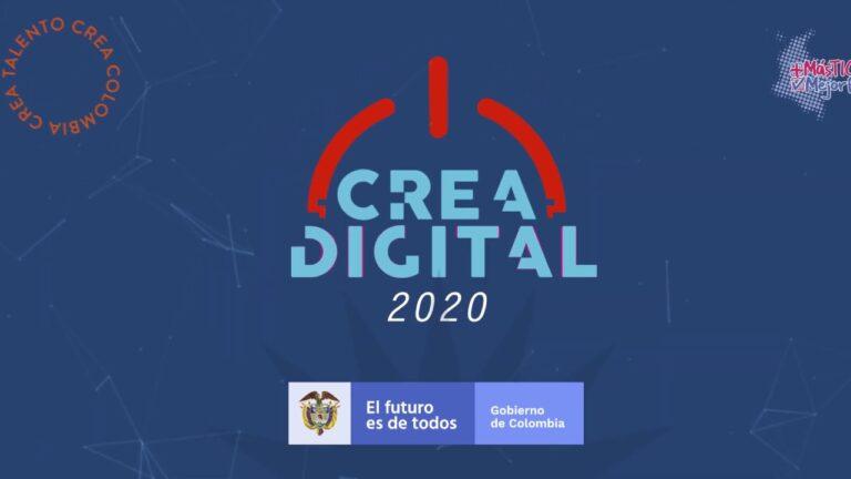 Postúlate a Crea Digital 2020 para las industrias creativas