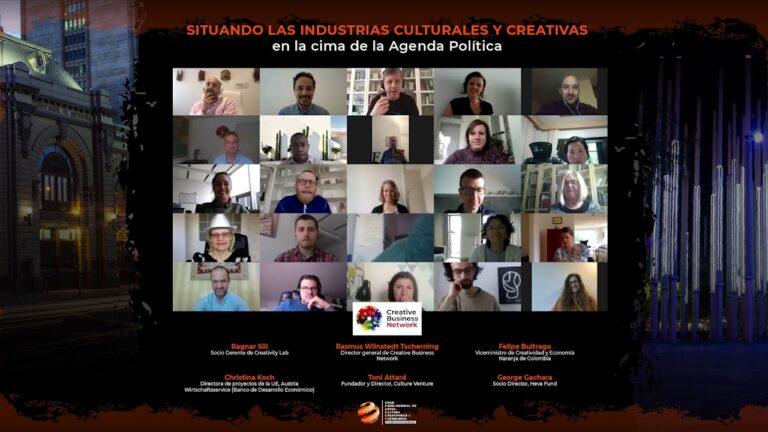 GFACCT – Situando las industrias culturales y creativas en la cima de la agenda política (Inglés)